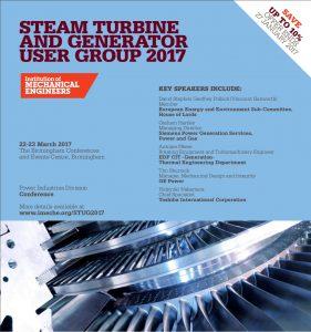 ImechE Steam Turbine User Group